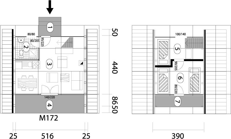 Montažna kuća Golija 30 mapa kuce