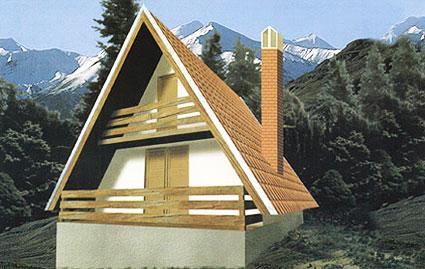 Montažna kuća Golija 40 slika