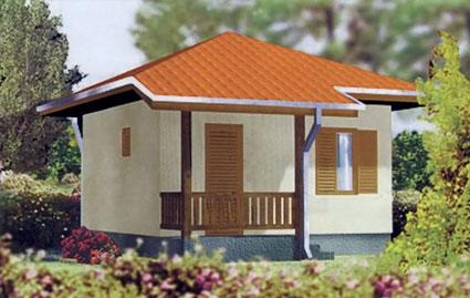 Montažna kuća TIP 27 slika