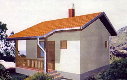 Montažna kuća TIP 30 slika