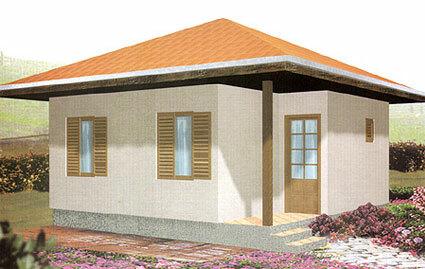 Montažna kuća TIP 35 slika