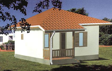 Montažna kuća TIP 40 slika