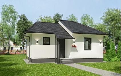 Montažna kuća TIP 44a slika