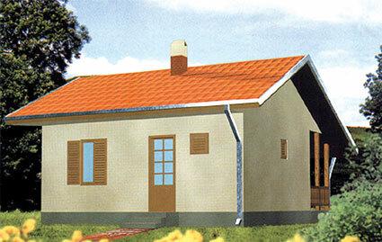 Montažna kuća TIP 44b slika