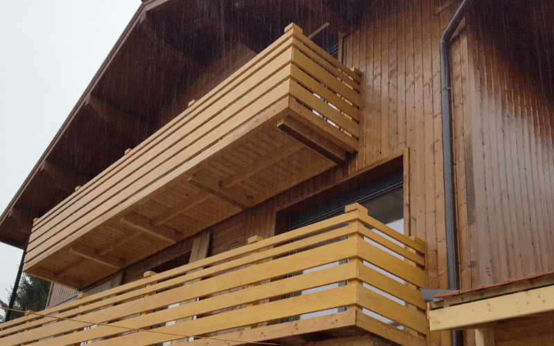 Montažna kuća na Alpima