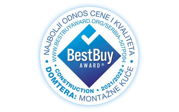Domtera je dobitnik prestižnog priznanja BEST  BUY AWARD!!