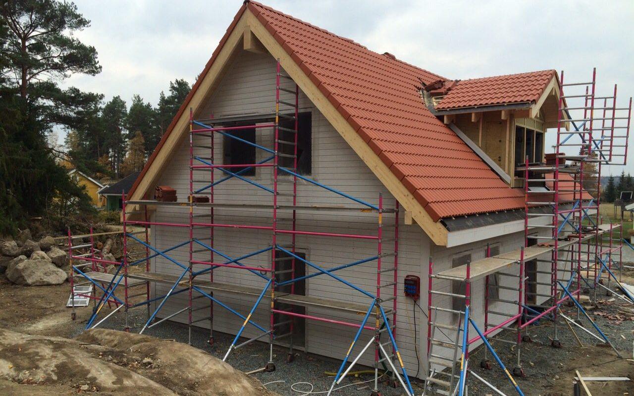 Izgradnja montažne kuće u Stokholmu