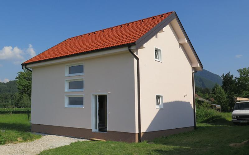 Nova montažna kuća u Sloveniji