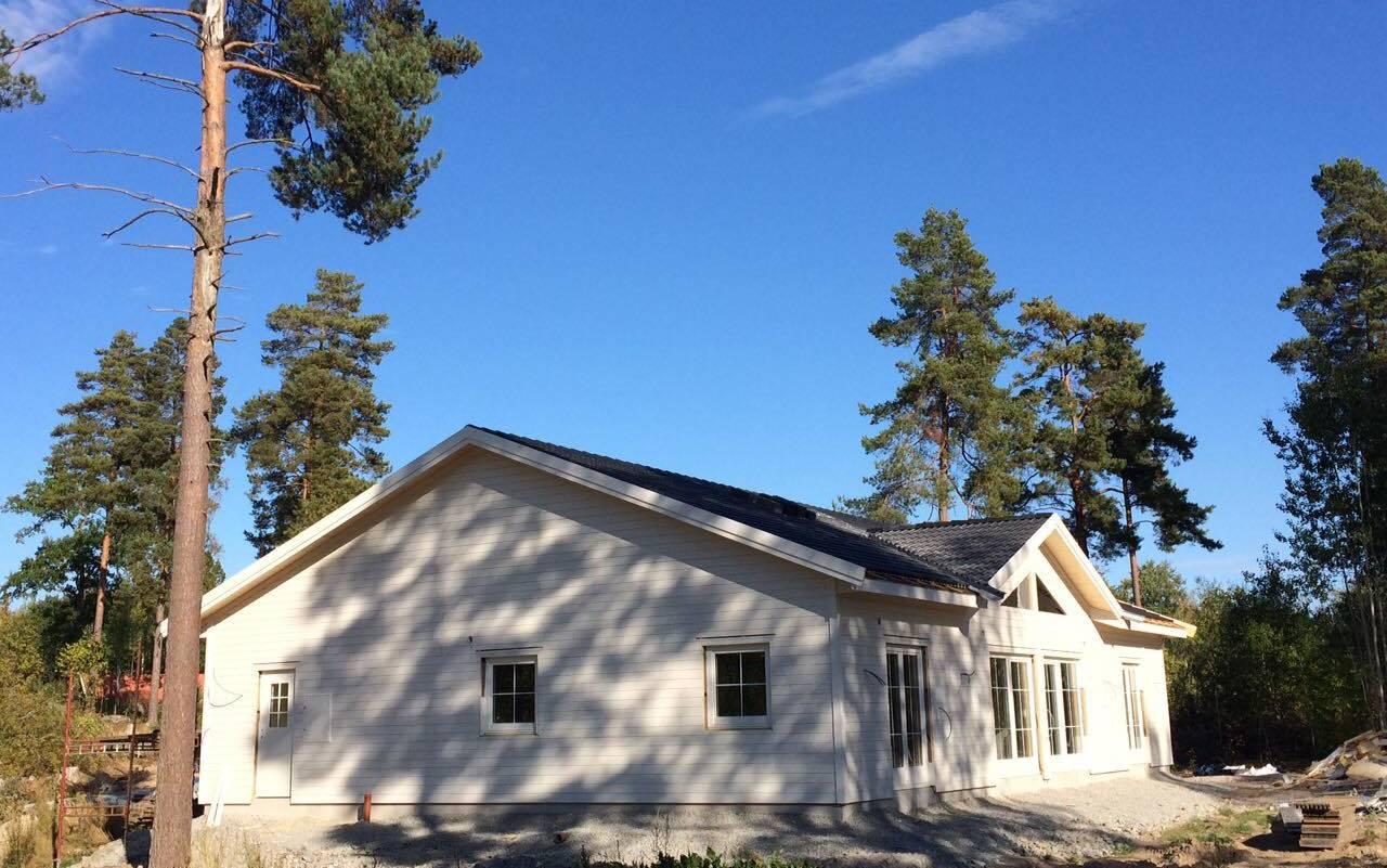 U toku je izgradnja nove montažne kuće u Švedskoj